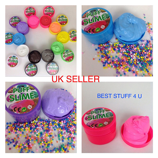 DIY Make Your Own Creative Slime Putty Kids Toy Christmas Gift Play Lab Kit h41